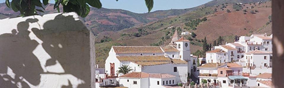 Het dorpje El Borge