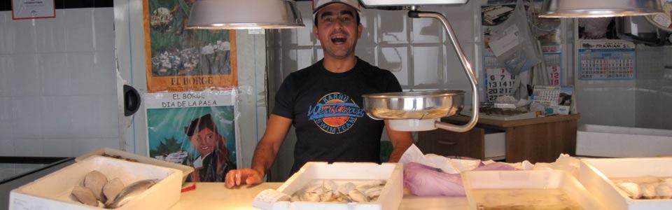 Het viswinkeltje van El Borge