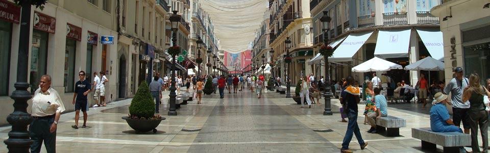 relaxte stad Malaga