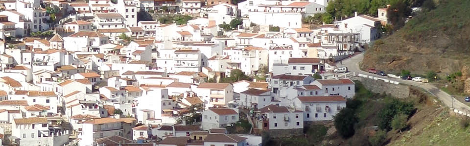 uitzicht vakantiehuis El Borge