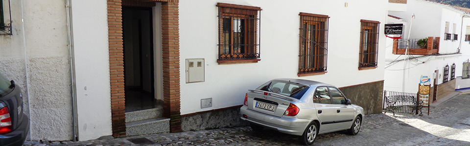 Casa Carril, straatzijde