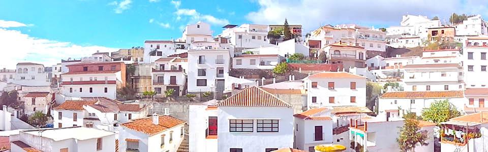 witte dorp El Borge in La Axarquia