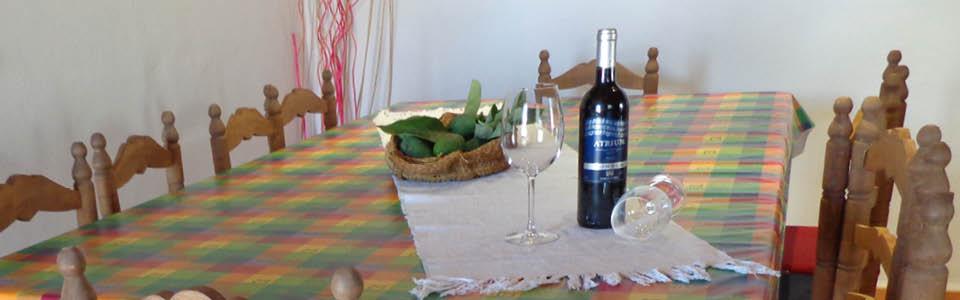 Olivo Grande, eettafel binnen