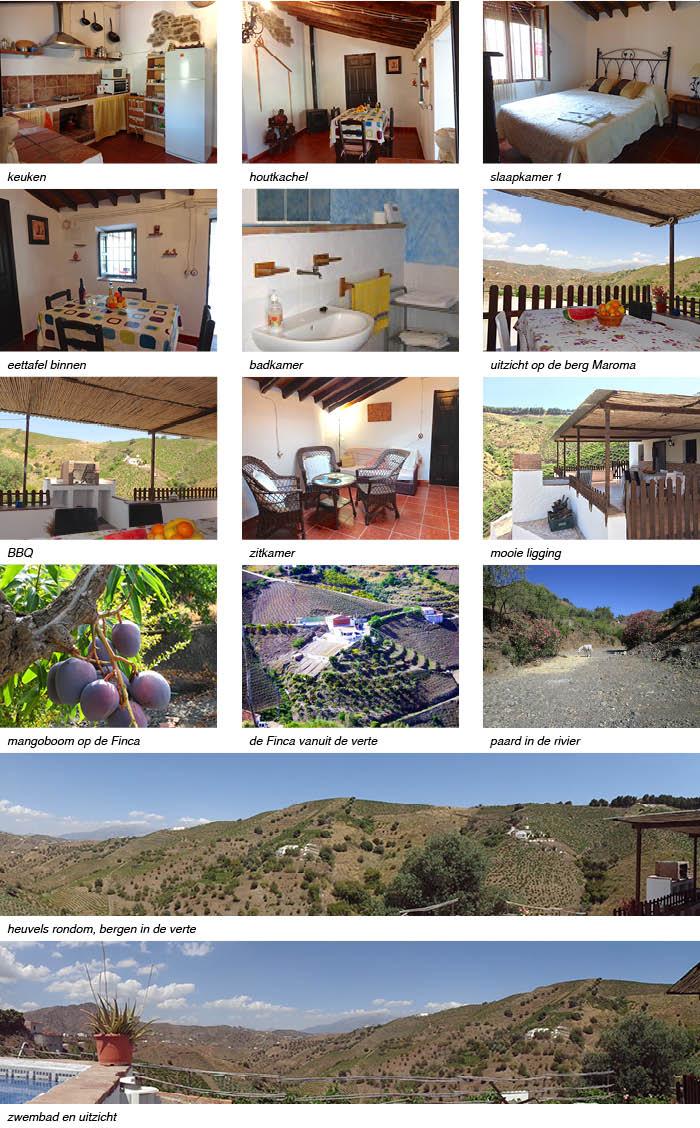 Vakantiehuisje Finca la Palma Andalusie