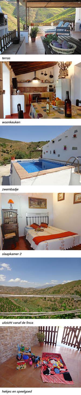 vakantiehuisje Finca la Palma