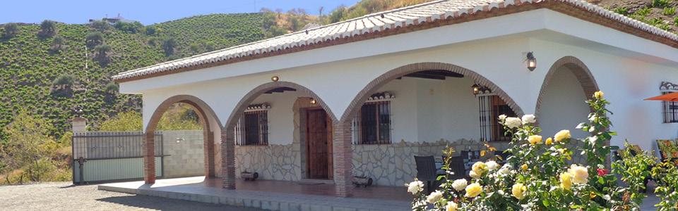 Villa in de natuur
