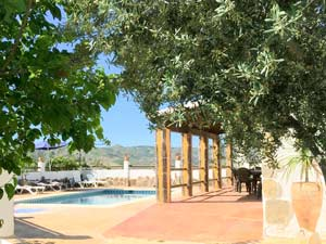 zwembad voor het vakantiehuis