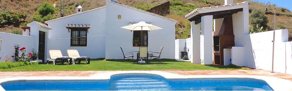 vakantiehuis andalusie met grasveld