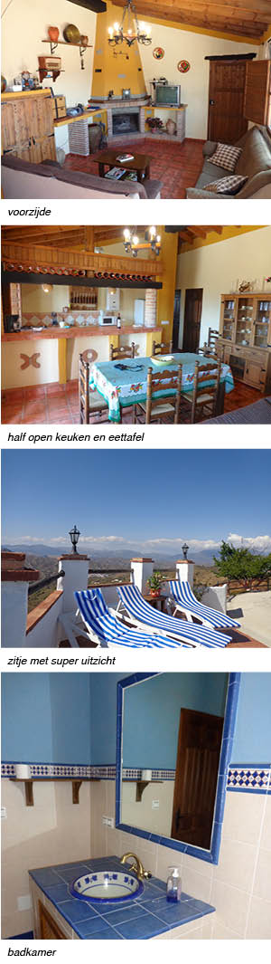 Vakantiehuis Casa Loma Valerio, strip rechts