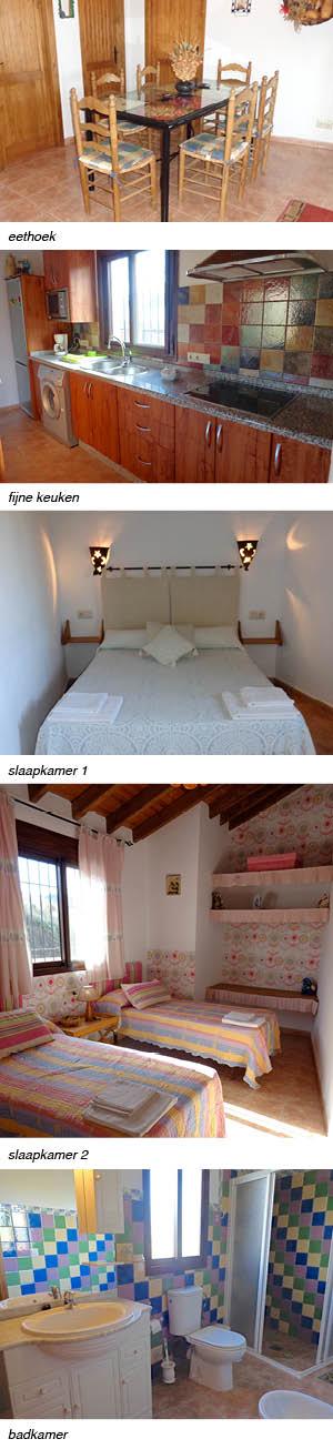 Vakantiehuis Arroyo de la Palma fijne vakantie woning in Andalusië