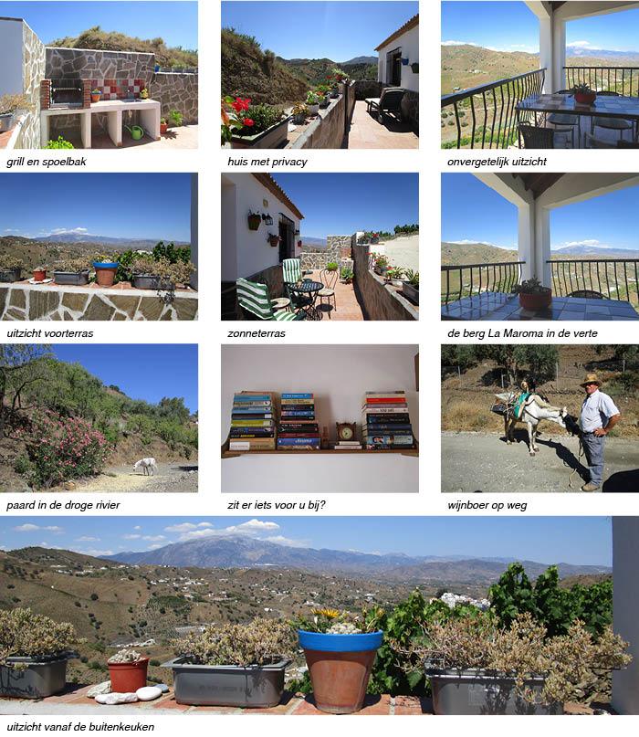 Vakantiehuis Arroyo de la Palma Andalusie, omgeving en detailfoto's