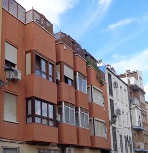 Malaga- Penthouse Appartement Paloma Azul - gehele bovenverdieping