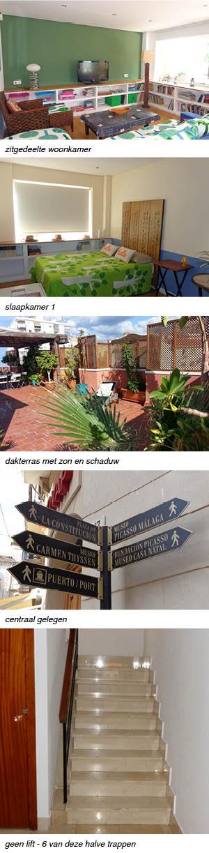 appartement penthouse paloma azul Malaga rechts