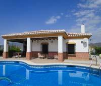 vakantiehuis-villa met airco zwembad Andalusie Zuid Spanje