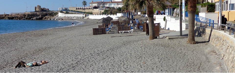 rustige stranden van La Axarquia