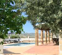 vakantiehuis casa Manolo zwembad voor het huis Andalusie