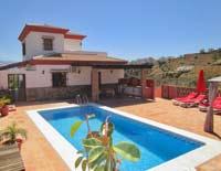 luxe vakantie villa met zwembad Zuid Spanje Andaludie