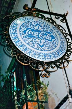 Arabische invloeden in Cola reclame