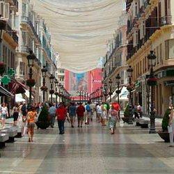 Winkelen in Malaga Larios winkelstraat