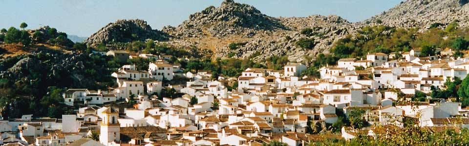 dorp in Andalusie