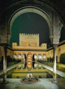 Alhambra bij nacht