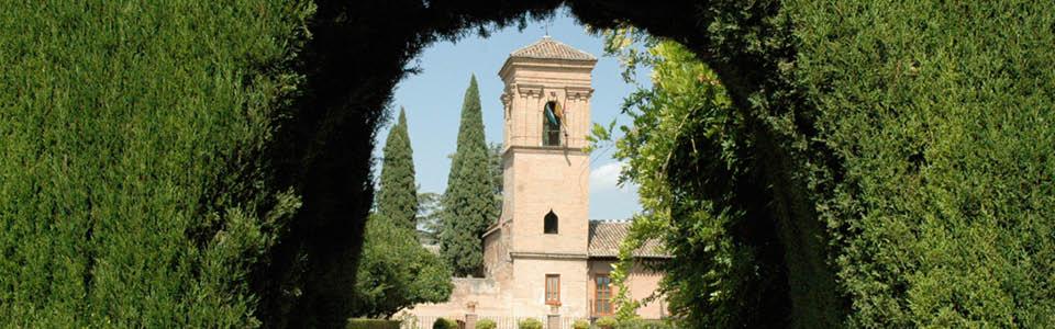 Alhambra met mooie tuinen