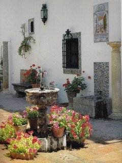 patio in Andalusie