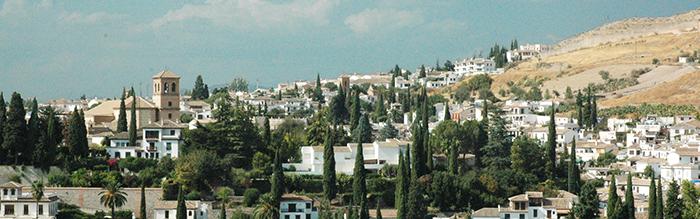 uitzicht op Granada