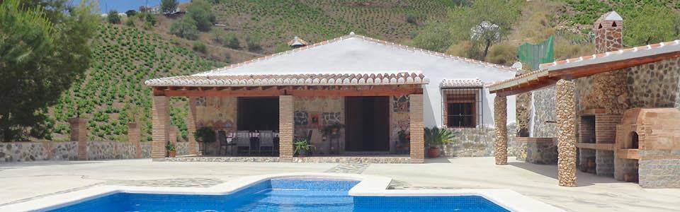 vakantiehuis met zwembad andalusie