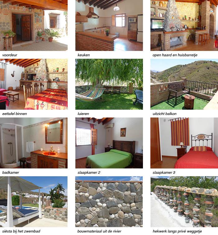 Vakantiehuis Casa Hugo strip onder