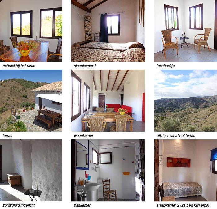 Vakantiehuis Casa Luz, indeling