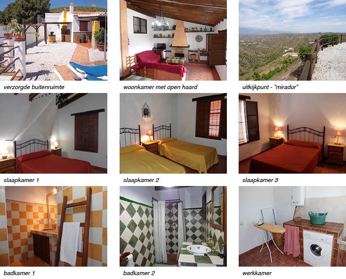 Villa Casa Periya, Andalusieindeling en omgeving