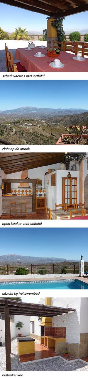 Villa Casa Periya Andalusie, indeling en omgeving