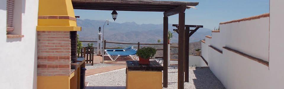 vakantiehuis met buitenkeuken Zuid Spanje