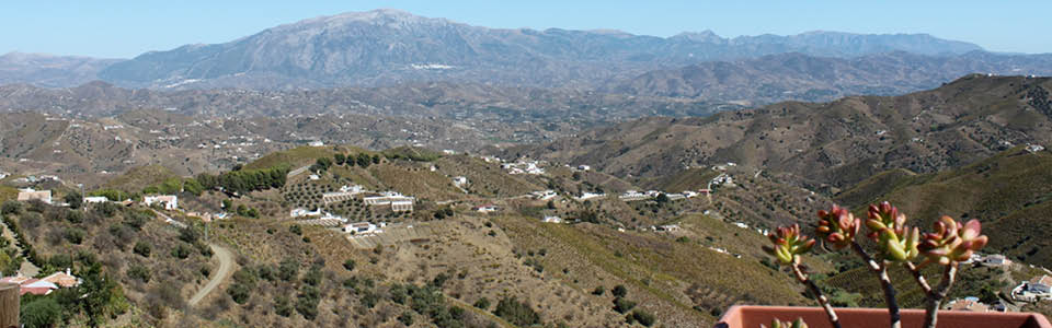 uitzicht vanuit Casa Periya
