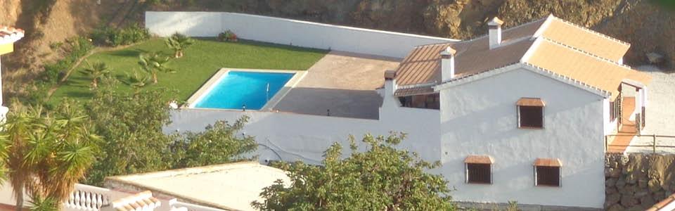 vakantiehuis in dorp