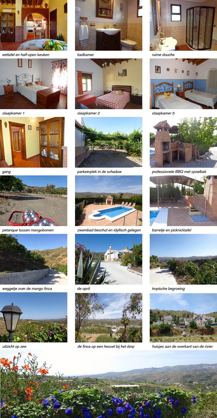 Andalusie alberto vakantiehuis fotos strip onder