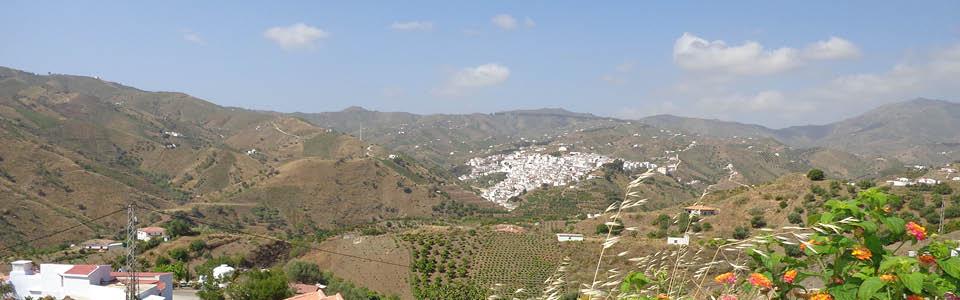 het witte dorp Almachar