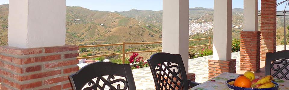 terras met uitzicht