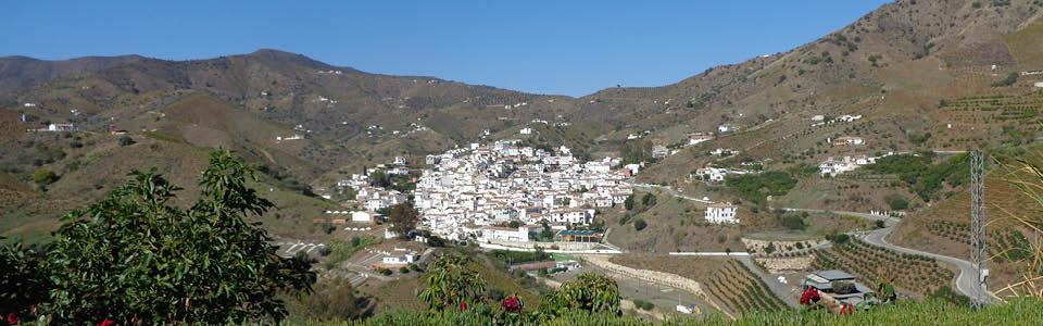 uitzicht op El Borge