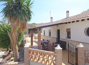 Vakantiehuis Casa Saray 400 mtr van het dorp El Borge
