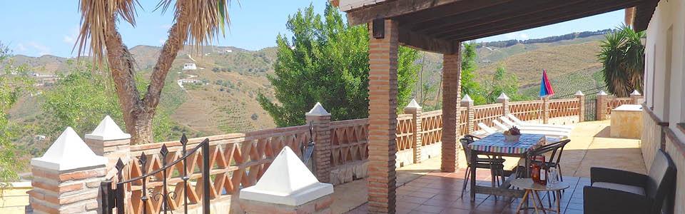 het vakantiehuis Casa Saray