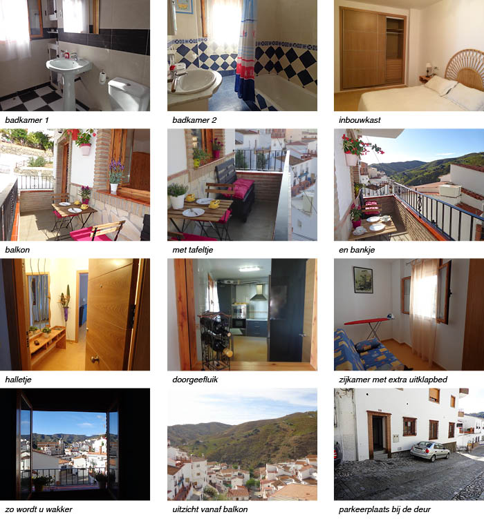 appartement Tita Andalusie, strip onder