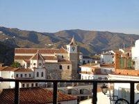 uitzicht van uw balkon El Borge Zuid Spanje