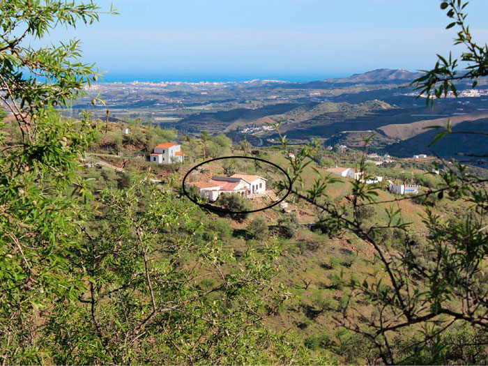 Casa Luz in het landschap
