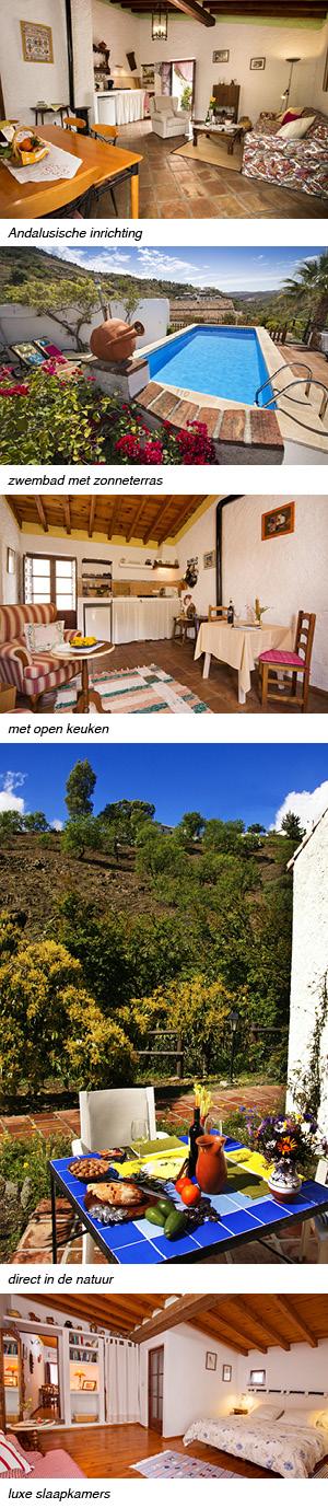 Cortijo Andalusie vertikale fotos