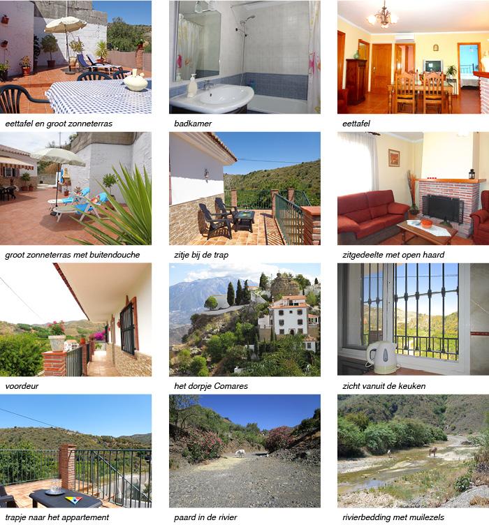 Appartement Salto Zuid Spanje strip onder