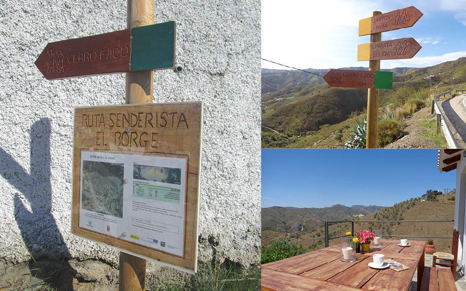 Bewegwijzerde wandelroutes in Andalusie, Spanje