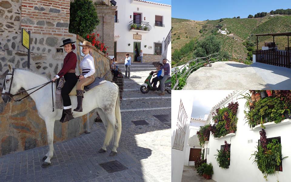 Wandelen langs en door de witte dorpen van Andalusie, Spanje