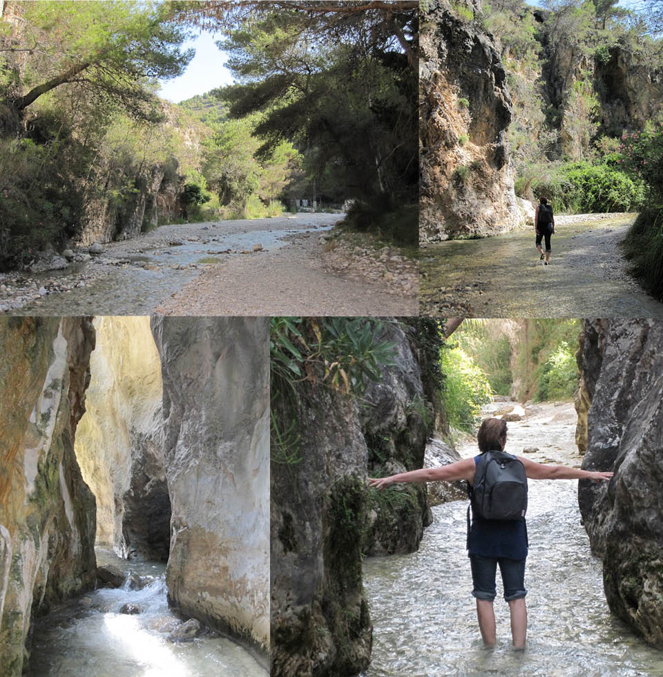 Wandeling door de Rio Chillar - Andalusie